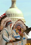 M.Washington,USA.Cheyenne Americans inaugurating National Museum of American Natives..jpg