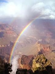 Arizona,USA Gran Canyon Colorado River gets more water From Powell Lake..jpg