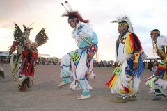 Las Vegas USA.Pow Wow Mountain Snow.Paiute Dance..jpg