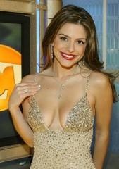 M.Los Angeles,USA.Model Maria Menounos with a 3000 diamons dress,2 mio Euros......jpg